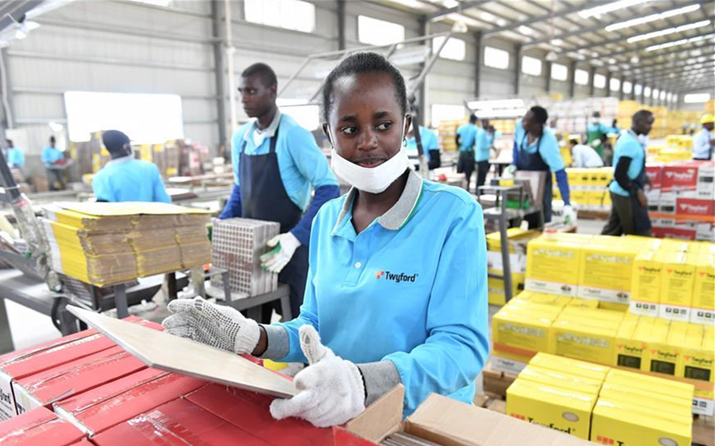 Chinese Firm Offers New Lease of Life to Kenyan Youth-- ChinAfrica